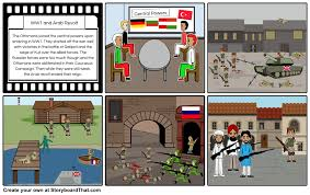 Downfall Of Ottoman Empire by Fall Of Ottoman Empire Storyboard By Zweaglesfan8