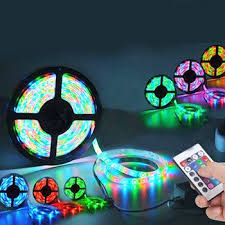 color changing led strip lights with remote led lights colour changing led lights strip 16ft with remote