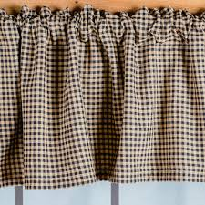 Country Plaid Valances Country Farmhouse Curtains Country Kitchen Curtains U0026 Window