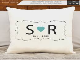 cotton gift ideas 2nd anniversary cotton gift personalized gift custom initial 2nd
