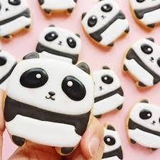 panda bear cookies vickiee yo hope you u0027ve all had a pandastic
