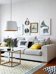 déco coussin canapé idée déco salon avec des coussins de canapé