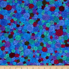 kaffe fassett home decor fabric kaffe fassett rolled paper blue discount designer fabric