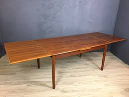 Danish Dining Table Danish Modern Teak Dining Table Retrocraft Design Collection