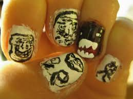 Domo Meme - meme faces with domo kun nails by holkinns on deviantart