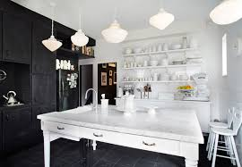 white home interiors retro modern house with black and white interior palette