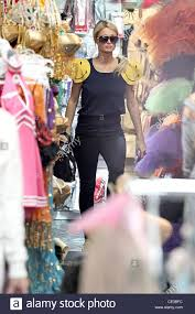 paris hilton shopping for halloween costumes with her boyfriend at