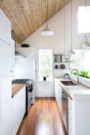 Bright Colored Kitchens - promontory project great room kitchen cabin kitchens cabin