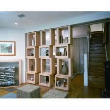 Open Shelving Room Divider Furniture Bookshelf With Books Unique Room Divider Bookcase