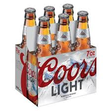 does coors light have yeast coors light beer 6 7 fl oz bottles walmart com