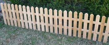 Decorative Outdoor Fencing Brand New 16 Foot Cedar Wood Fence Decorative Garden Fencing