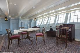 Victory Interior Design Hms Victory Allows Visitors To See New Parts Of Lord Nelsons Ship