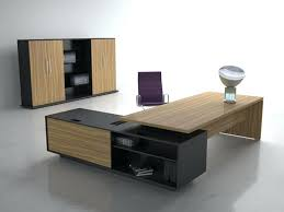 Computer Desk In Black Office Design Black And White Workspaces Minimalist Home Office