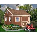 Best Barns Millcreek Millcreek 12x20 Wooden Best Barn Shed Kit
