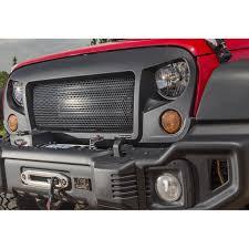 Rugged Ridge Grille Inserts Jeep Jk Rugged Ridge 12034 01 Spartan Grille 07 16 Jeep Wrangler Jk