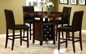 high top round kitchen table counter height kitchen table and chairs high kitchen table sets