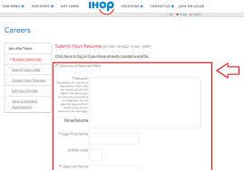 how to apply for ihop jobs online at ihop com careers