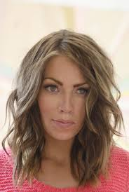 above the shoulder layered hairstyles casual shoulder length layered hairstyles for long face shape