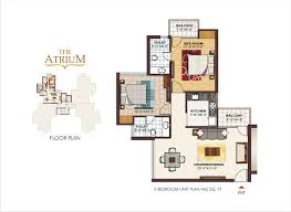 Garden Home Floor Plans by 28 Atrium Floor Plan Stylish Atrium Ranch House Plan With