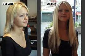 clip in hair extensions before and after 18 7 silky clip in indian remy human hair