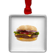 burger ornaments keepsake ornaments zazzle