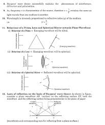 important questions for cbse class 12 physics huygens principle