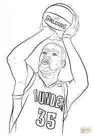 nba players coloring pages kevin durant nba coloring pages sports coloring pages