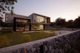 open house design modern home architecture stone