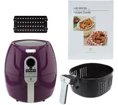 cook u0027s essentials 5 3 qt digital air fryer with divider page 1
