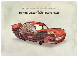 cars characters yellow the inside anatomy of pixar s cars characters geektyrant