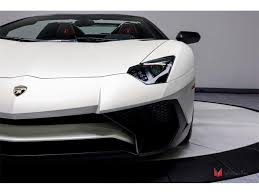 lamborghini aventador lights for sale 2017 lamborghini aventador lp 750 4 sv roadster for sale in