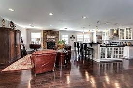 houses with open floor plans brookhaven floor plan open concept kitchen and living area with