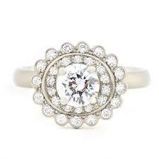 scalloped engagement ring angela betteridge sportun scalloped engagement ring