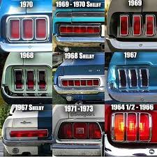 65 mustang accessories mustang taillights cars fomoco cars ford