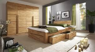 Schlafzimmer Massiv Komplett Schlafzimmer Massivholz Kernbuche Bettgestell 180x200 Holz