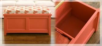 Orange Storage Ottoman 10 Awesome Diy Ottoman Ideas