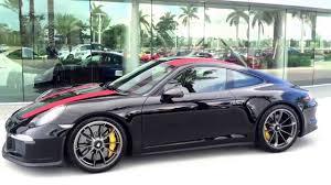 black porsche red interior 2016 black red stripes porsche 911r 500 hp porsche west