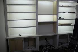 Bookcases With Lights Lamp Hack How To Make Any Lamp Cordless View Along The Way