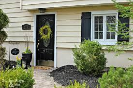 stylish u0026 elegant black front door makeovers modern masters cafe