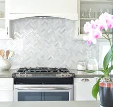 herringbone kitchen backsplash herringbone tile backsplash contemporary classic marble kitchen