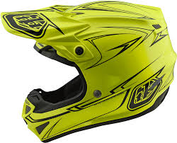 motocross helmets with visor 2018 troy lee designs se4 polyacrylite pinstripe helmet