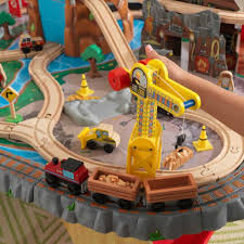 waterfall junction train set u0026 table