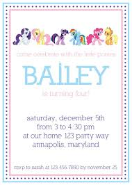 little man birthday invitations my little pony birthday invitations birthday party invitations