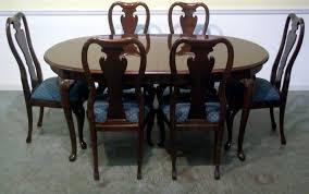 mahogany dining room set list biz
