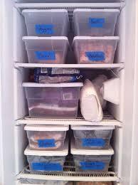 organization bins easy freezer organization with plastic bins painter s tape