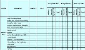 Construction Sheets Template by Free Masonry Estimating Sheet To Estimate Your Masonry