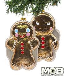krampus film gingerbread man glass ornament u2013 middle of beyond