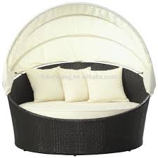 Outdoor Day Bed by Outdoor Fantastic Daybed With Canopy Retractable Sun Guard Image