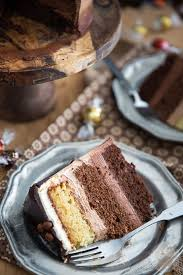 triple chocolate ombre cake u2022 my evil twin u0027s kitchen