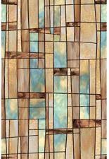 Decorative Window Film Stained Glass Artscape Geometric Window Films Ebay